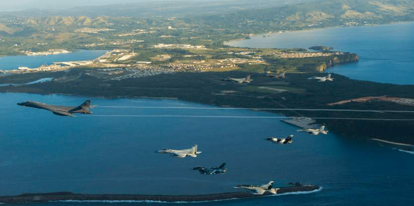 North Korea threatens to bomb Guam, a US territory