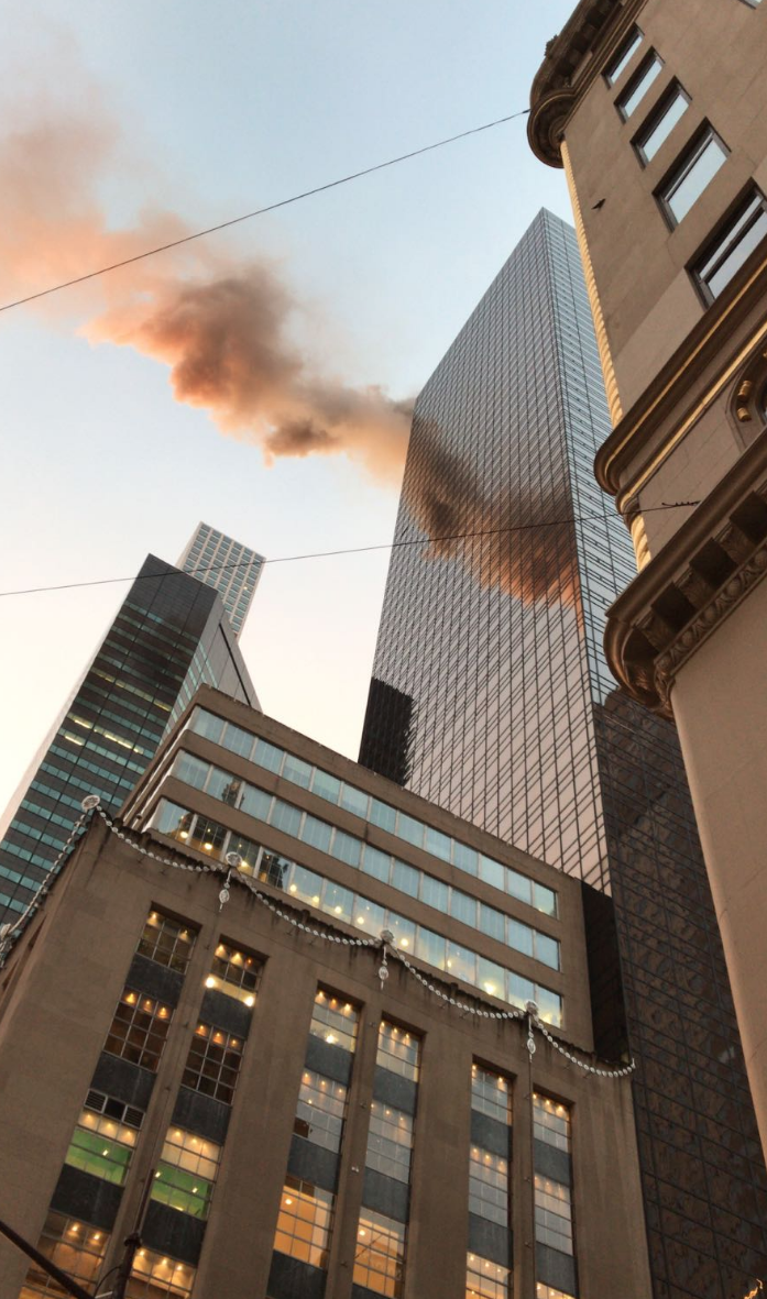 Screen Shot 2018 01 08 at 7.48.50 AM - Trump Tower in Manhattan was on fire (Photos/Video)