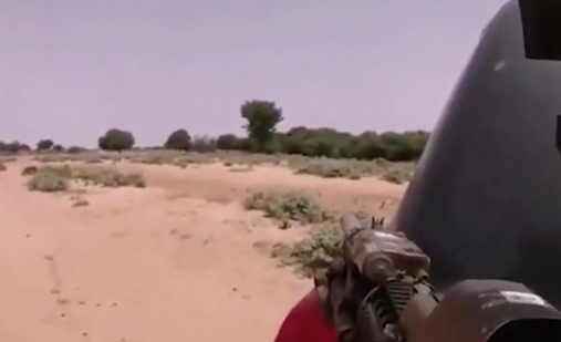 ISIS propaganda video shows USA soldiers under attack in Niger