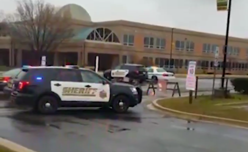 Screen Shot 2018 03 20 at 10.20.39 AM - Maryland school shooter shot dead by hero armed school officer - 2 students injured
