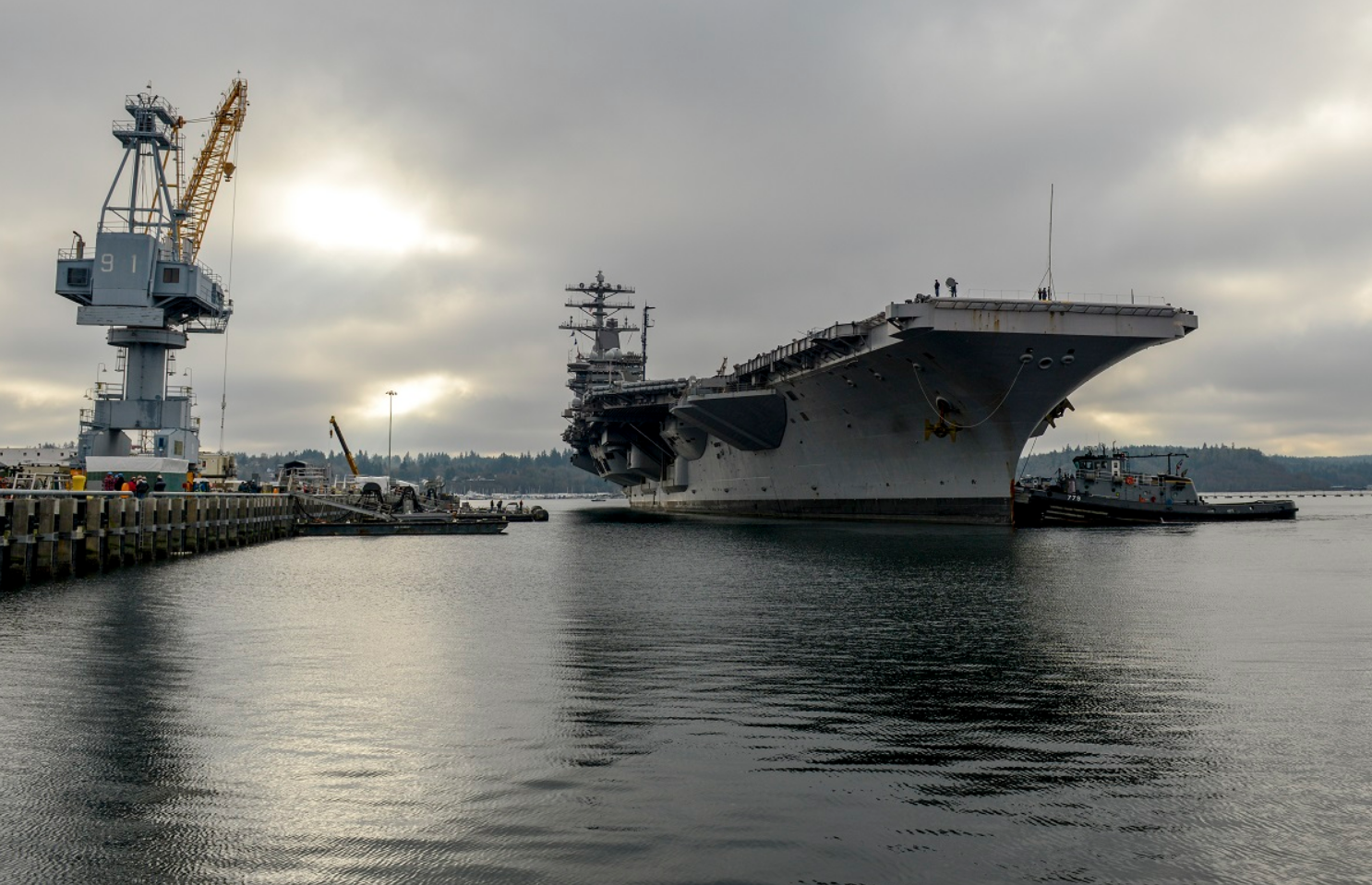 Iran is getting ready to blow up a fake aircraft carrier, again
