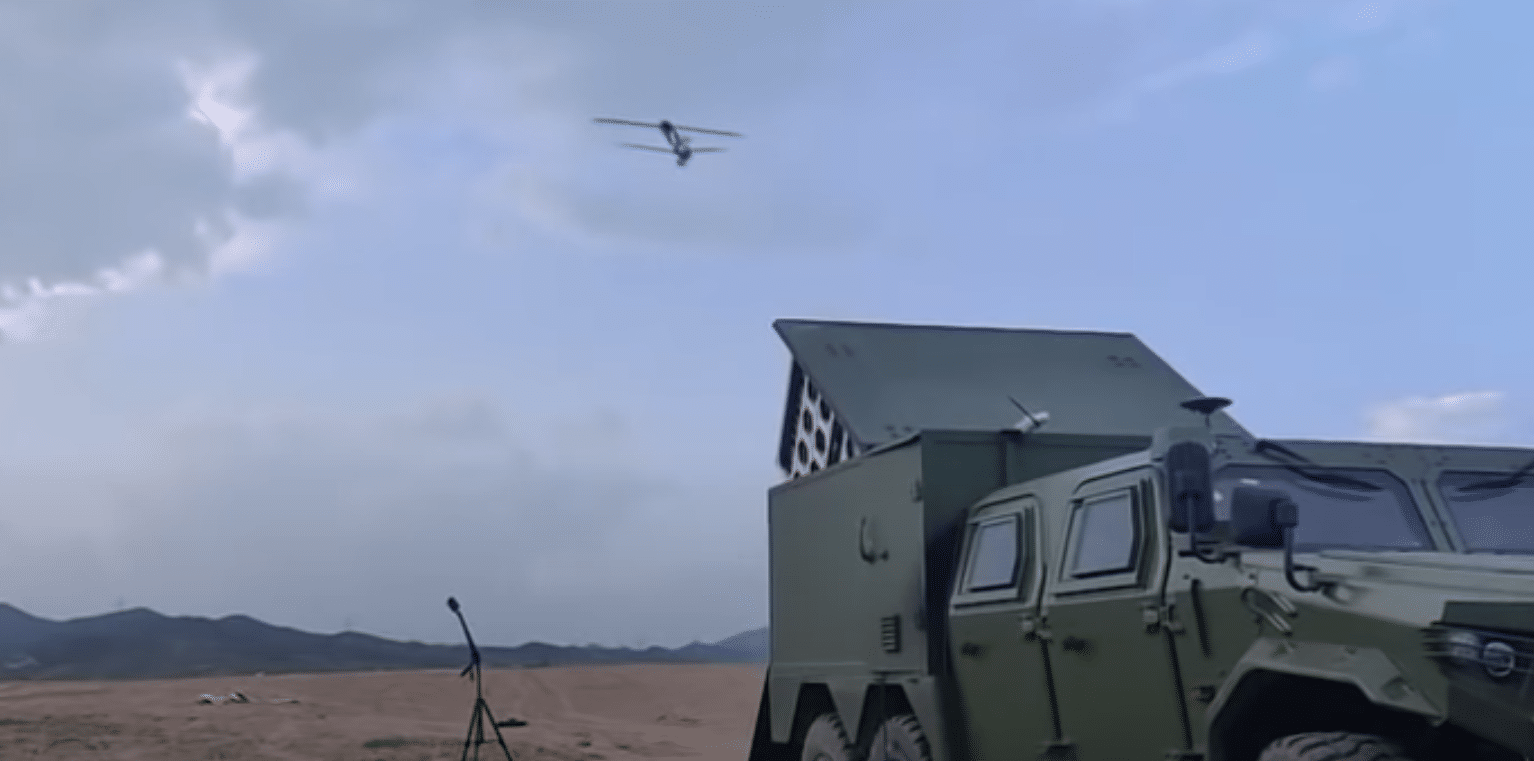 Video: China has swarming drone-bomb system