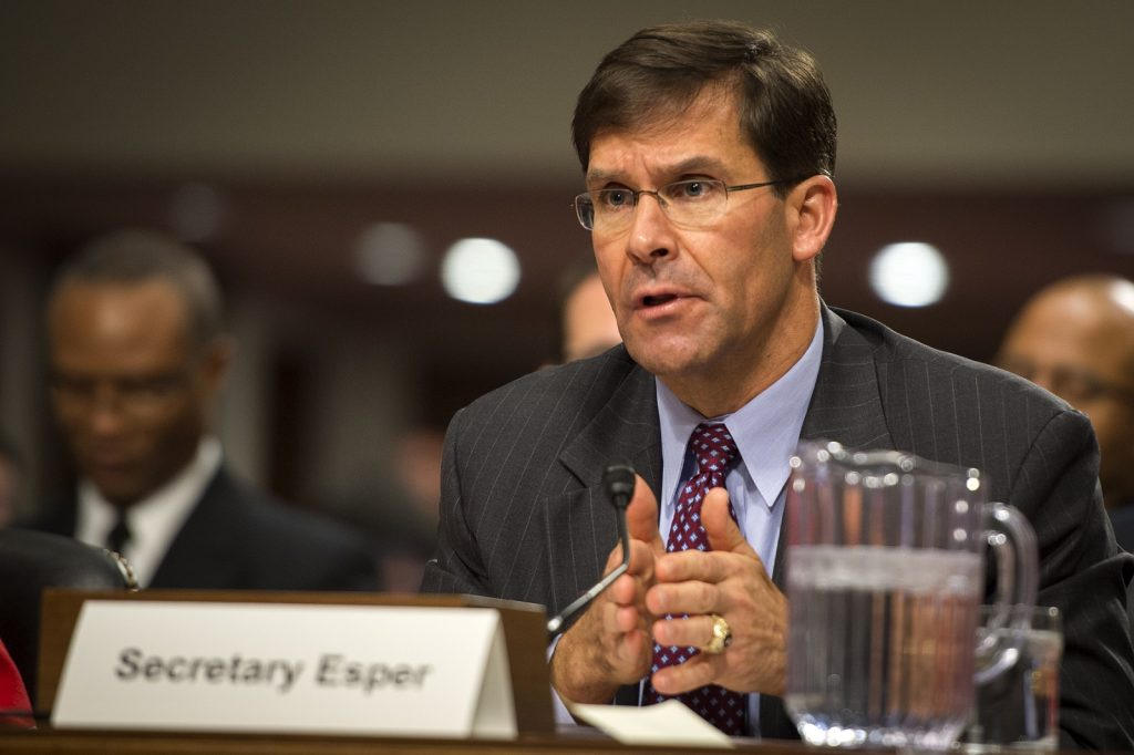 Esper brings China focus as Defense secretary