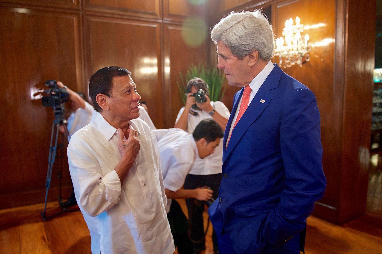 Secretary Kerry with Philippines' President Duterte