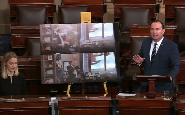 video sen mike lee trolls green new deal with reagan on