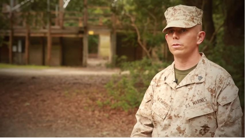 Sgt Atwood - A spotlight into one of the drill instructors responsible for transforming recruits into Marines