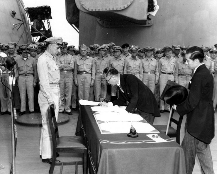 This Day In History: V-J Day, Japan Formally Surrenders, Ending World War II Featured