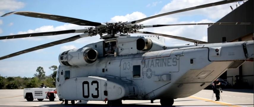 Sikorsky CH 53K King Stallion - The U.S. Marine Corps Sikorsky CH-53K King Stallion Will Be The Largest & The Most Powerful Helicopter In The U.S. Military