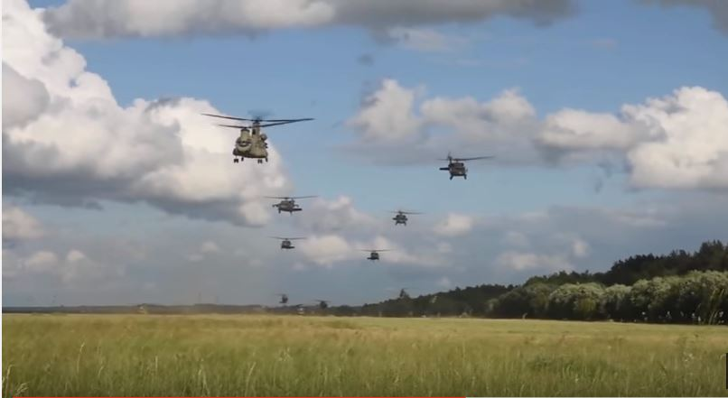 Video Of U.S. Sky Soldiers Conducting Air Assault Raid By Helicopter As Part Of Exercise Anakonda 2016 Featured