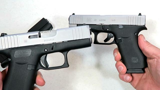 Op-Ed: Glock 43X & Glock 48 – new single stack 9mm pistols for 2019