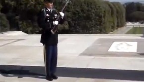 Soldier at the Tomb