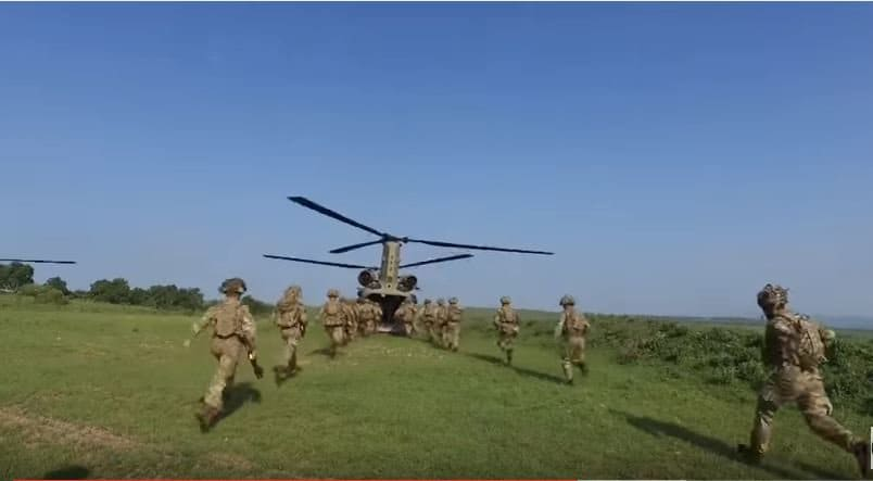 Soldiers in Exercise Noble Jump 2017 - The NATO Very High Readiness Joint Task Force shows the world it's ready to fight any threat - anytime, anywhere
