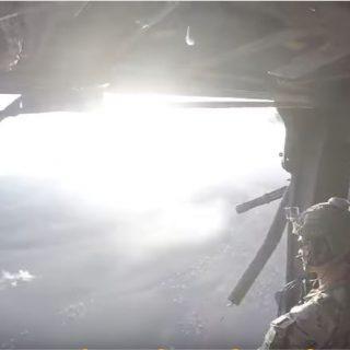 U.S. Special Ops in Afghan desert.