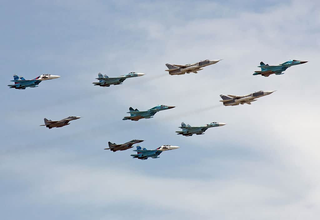 VIDEO: Russia says its jets chased off NATO warplane