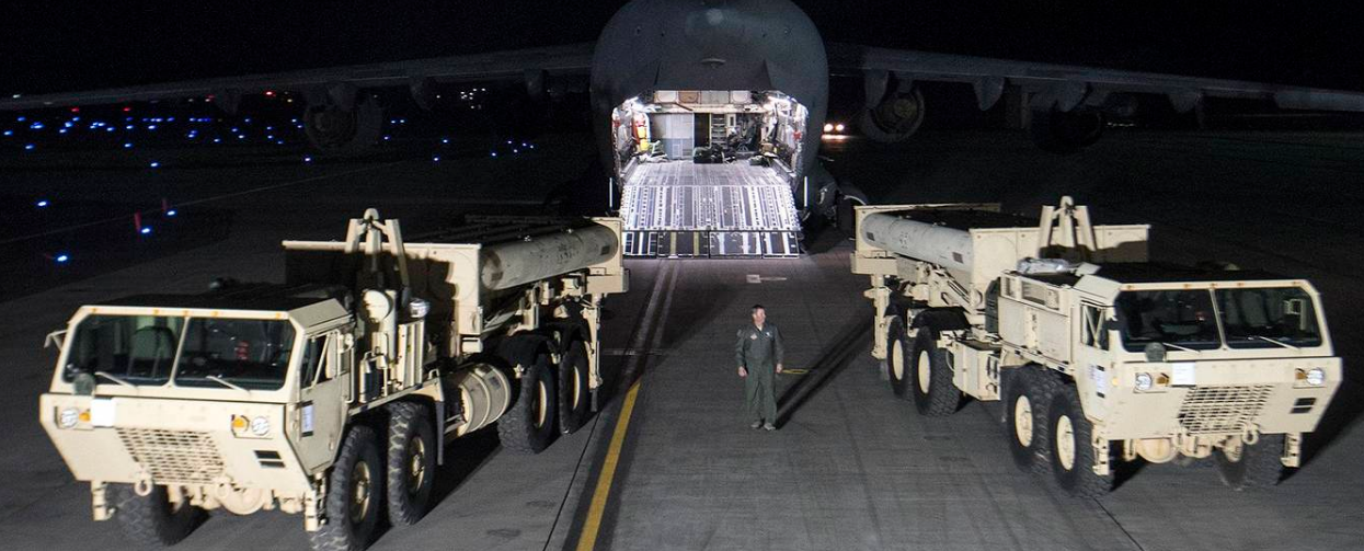 (VIDEO) THAAD Ballistic Missile Defense System Arrives in South Korea Featured