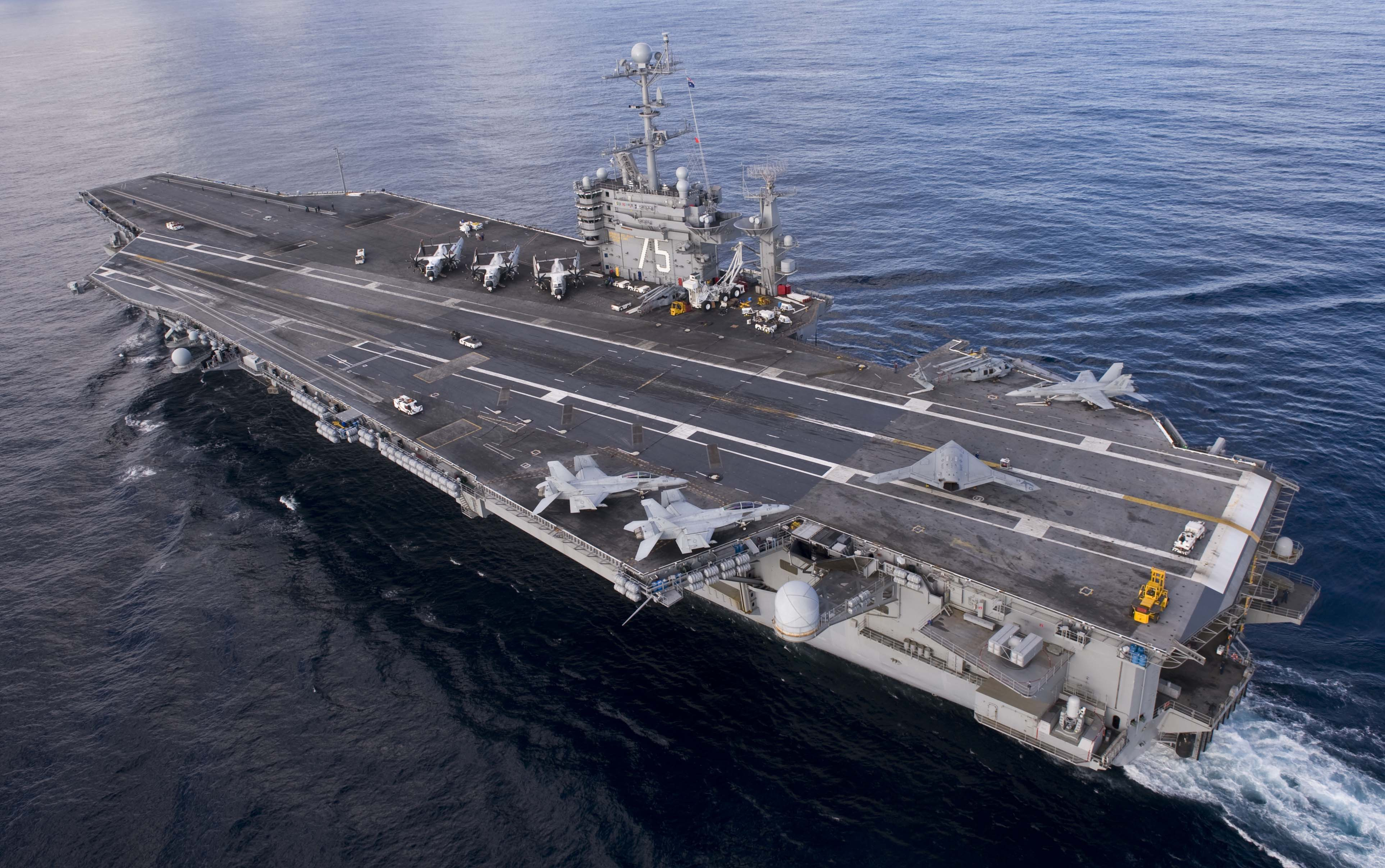 "Iranian Rockets Miss U.S. Aircraft Carrier By Mere Yards Last Week In ""Provocative"" Act Featured"