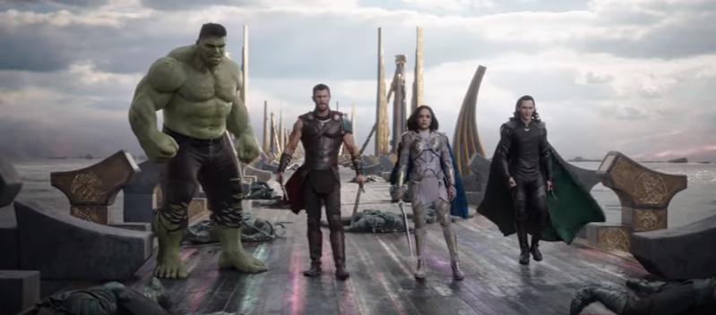 Thor Ragnarok trailer 1 - (TRAILER) Thor, Hulk and Loki join forces in 'Thor: Ragnarok'