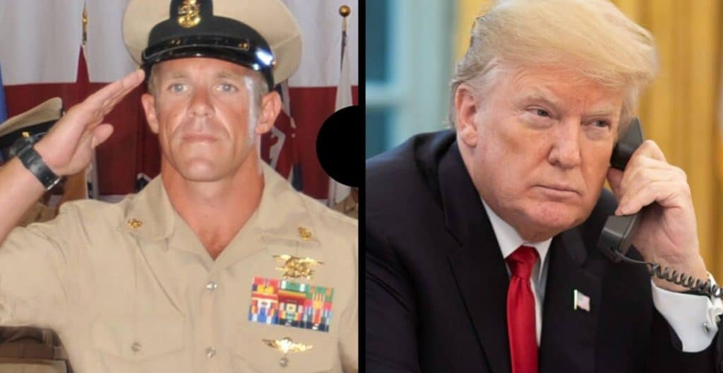 Trump announces new Navy Secretary; says SEAL Gallagher will retire honorably as a SEAL