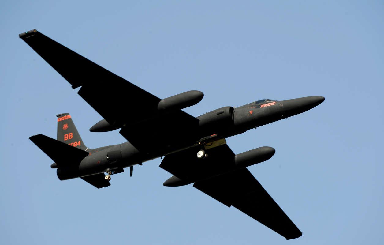 U 2 S Osan AirBase USAF - How the United States Keeps an Eye on North Korea