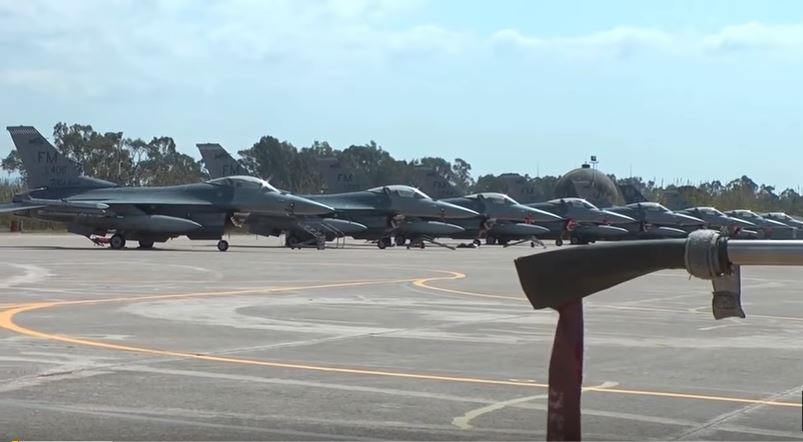 U.S. Air Force F-16 Fighting Falcon Makos Goes To Greece For INIOHOS-17 Exercise Featured