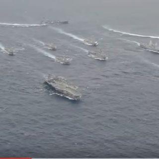 U.S. Navy Show of Force