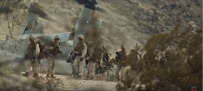 US Marines - This video shows how the US Marine Corps is always ready to go above and beyond