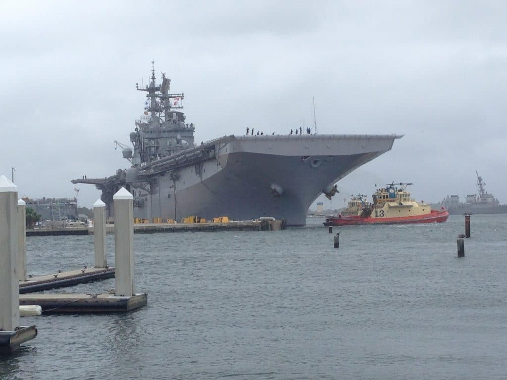2 sailors injured after USS Iwo Jima catches fire at Naval Station Mayport