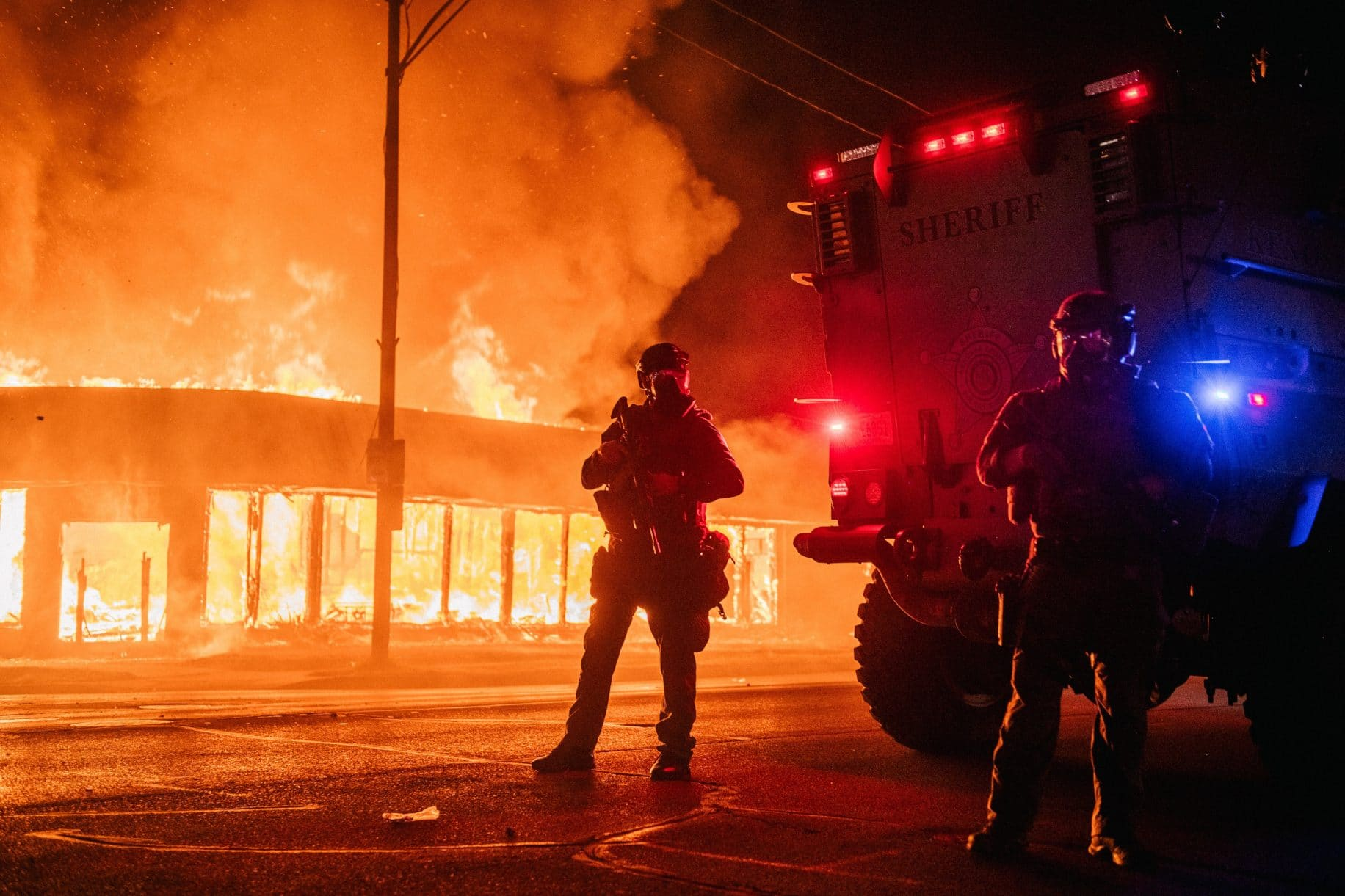 Juvenile arrested for WI riot murders; Trump sending in Nat'l Guard and federal agents