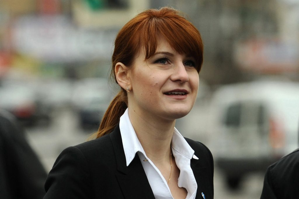 Maria Butina's new job? Maybe advocating for other Russians held in US prisons