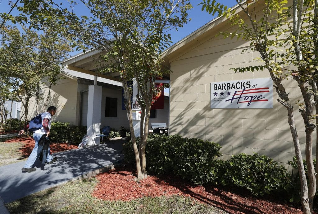 FL homeless shelter helps 29 veterans to permanent homes in 1st year