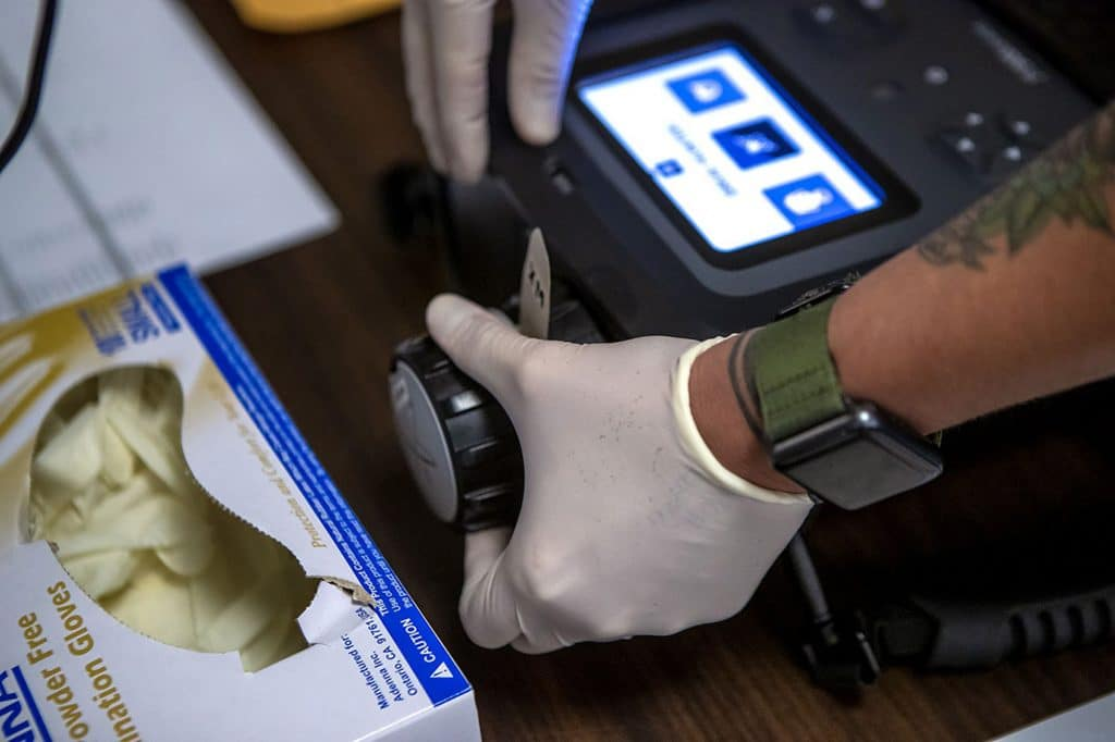 Built for counterterrorism, this high-tech machine is now used to detect fentanyl