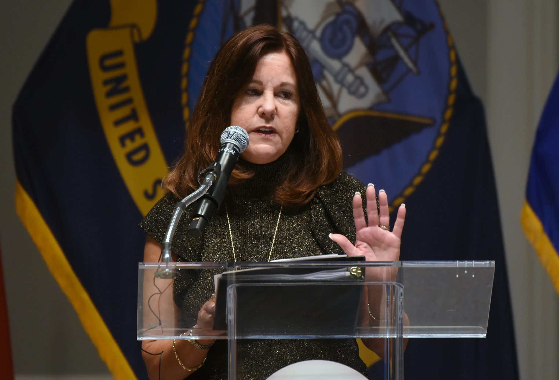 Karen Pence visits Detroit, promotes suicide prevention among vets