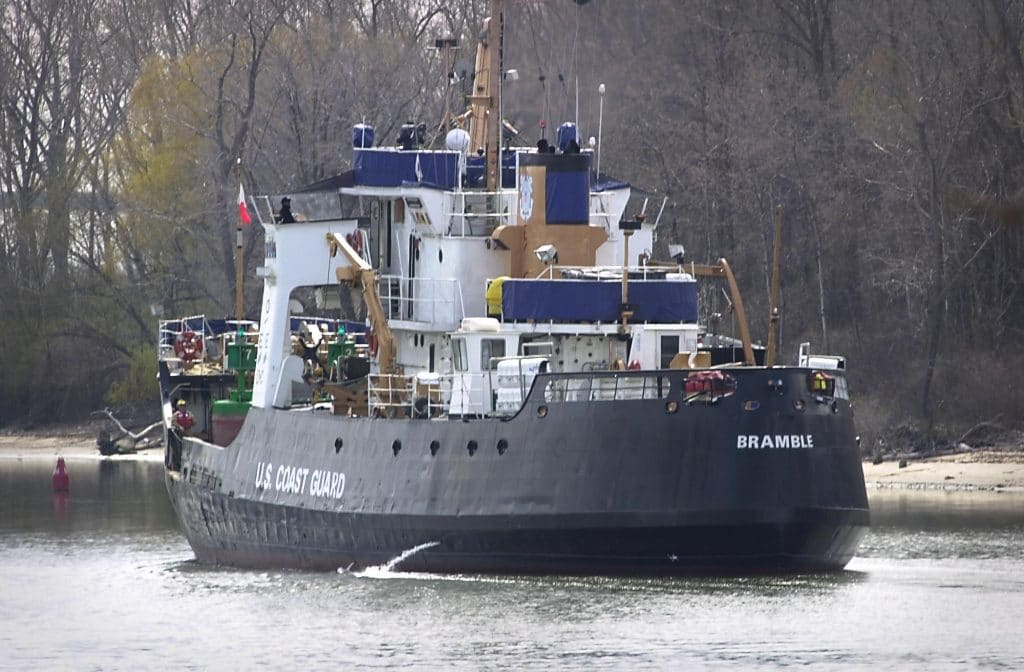 Former Coast Guard cutter sold at auction for $80K