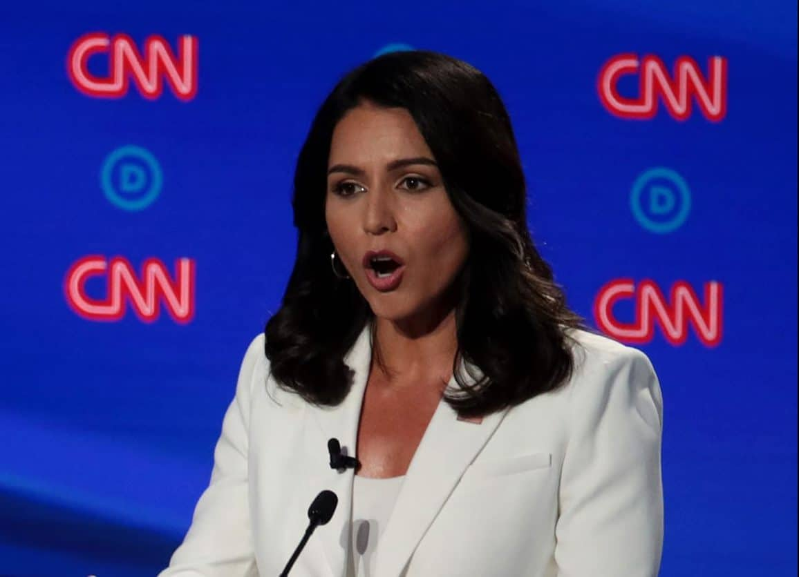 Tulsi Gabbard says US should scale back military operations overseas