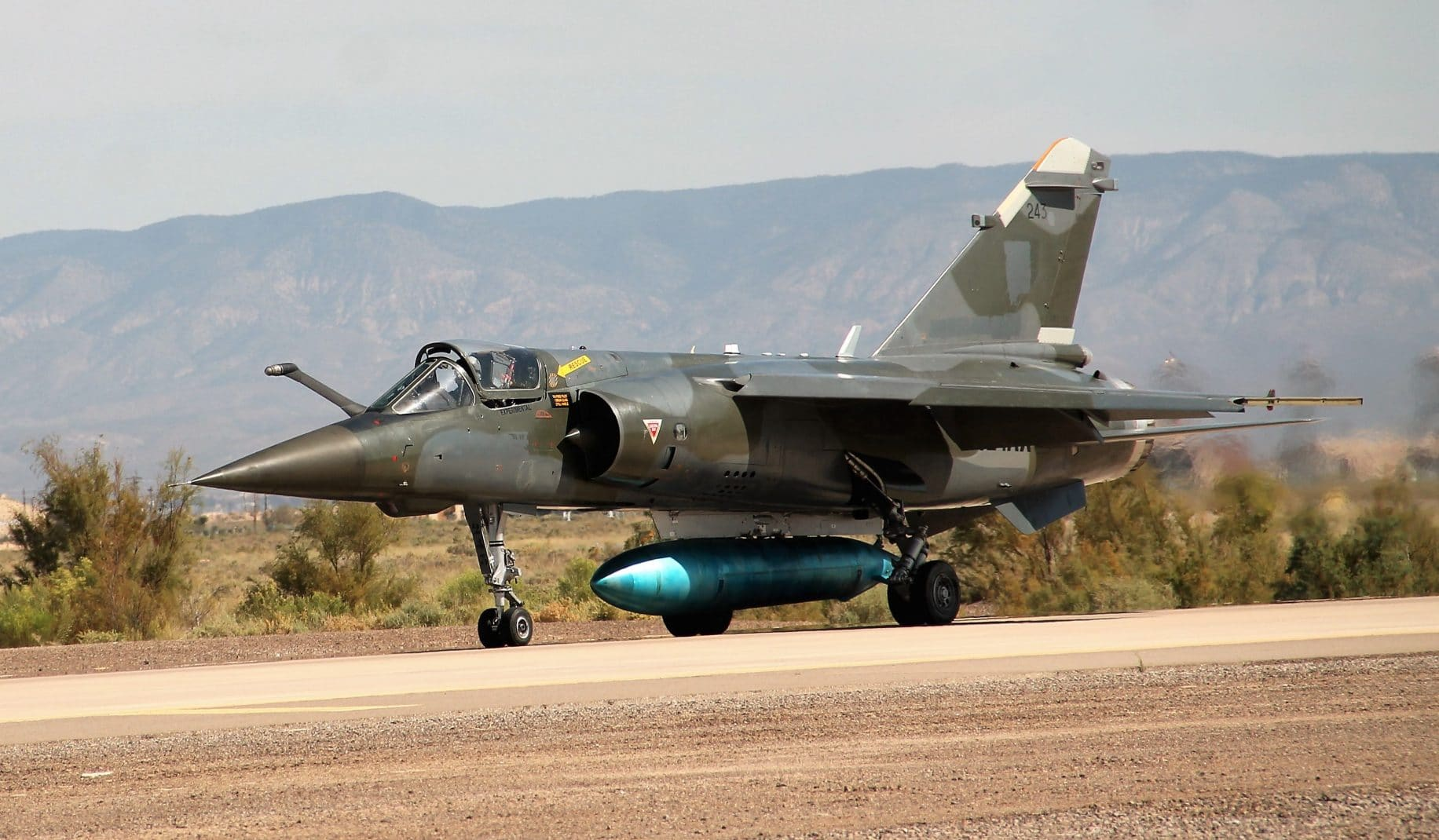 Pics: Holloman Air Force Base welcomes four Mirage F-1s