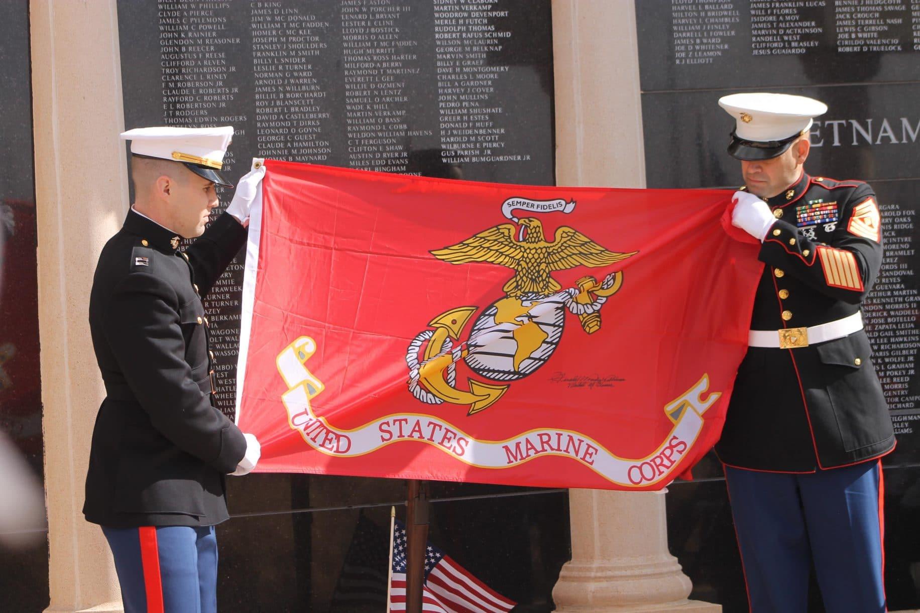TX veterans honored at Iwo Jima memorial service