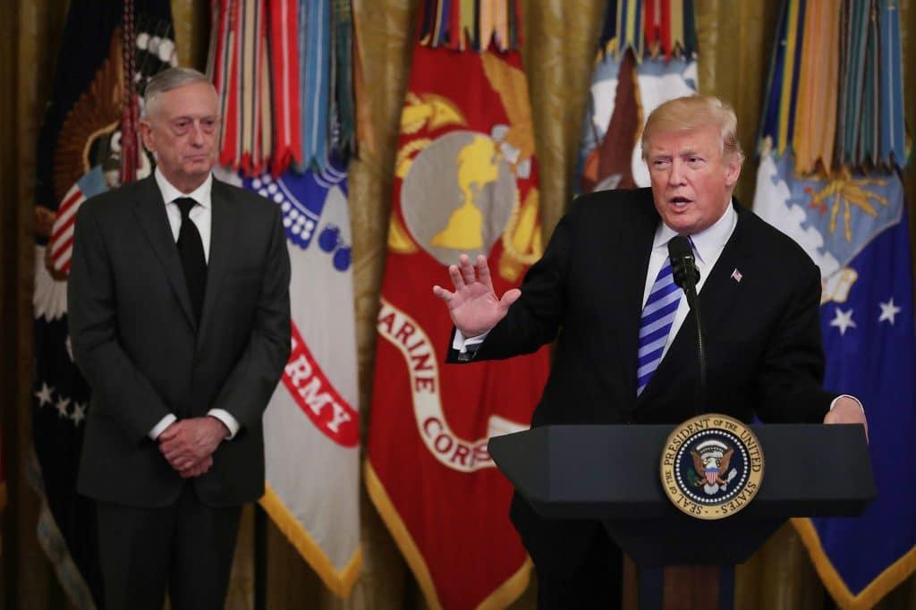 Video: Mattis jokes about Trump bone spurs, 'I earned mine on battlefield, Trump earned his in a Dr. letter'