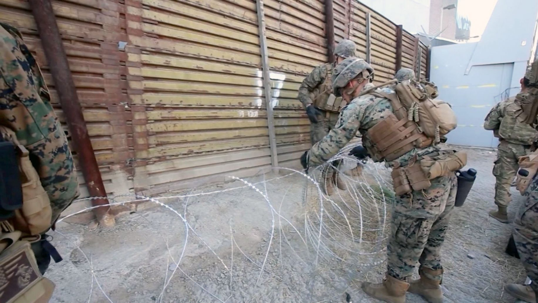 2,100 more troops going to US-Mexico border