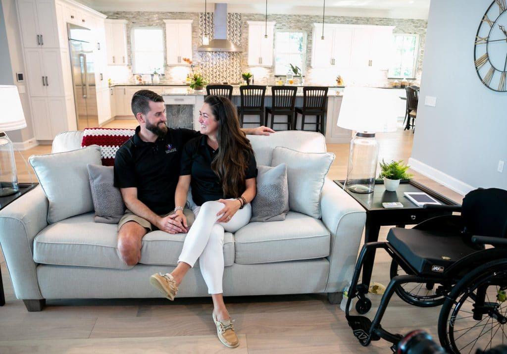 PHOTOS: FL vet who lost both legs in Afghanistan gets custom-built smart home