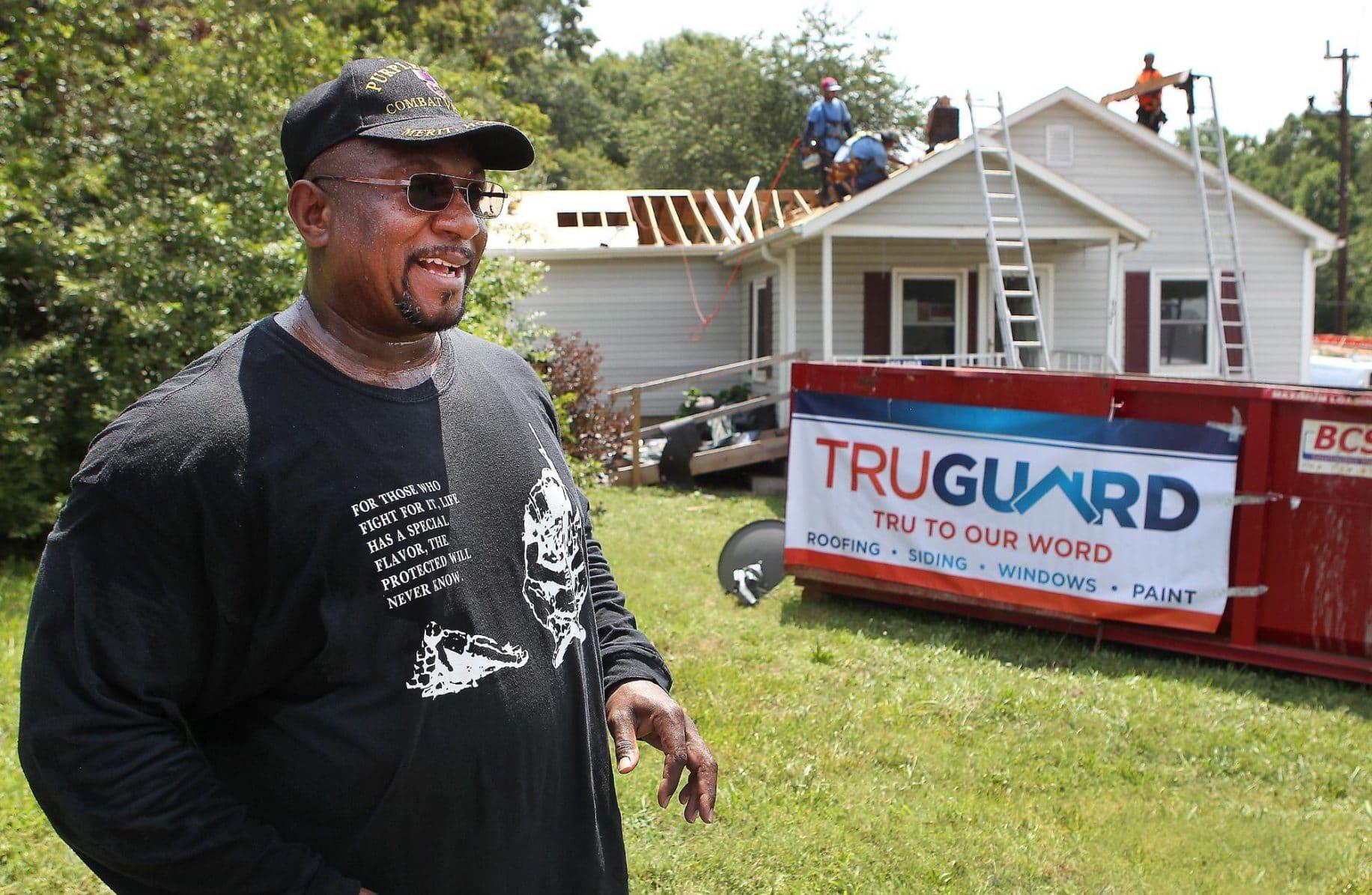 Purple Heart veteran to receive new home