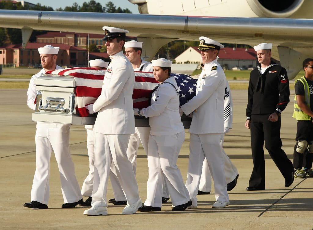 Remains of Navy veteran killed in Pearl Harbor back in Alabama