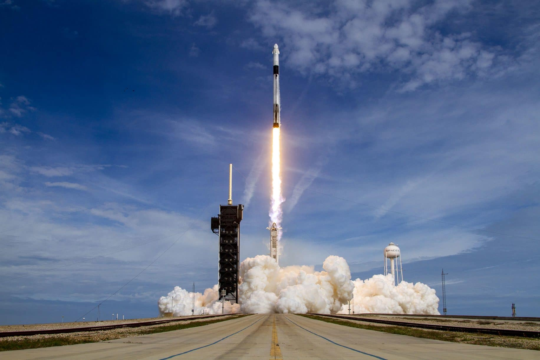 In a milestone-packed launch, SpaceX marks 80th successful liftoff but is unable to land booster for 50th time
