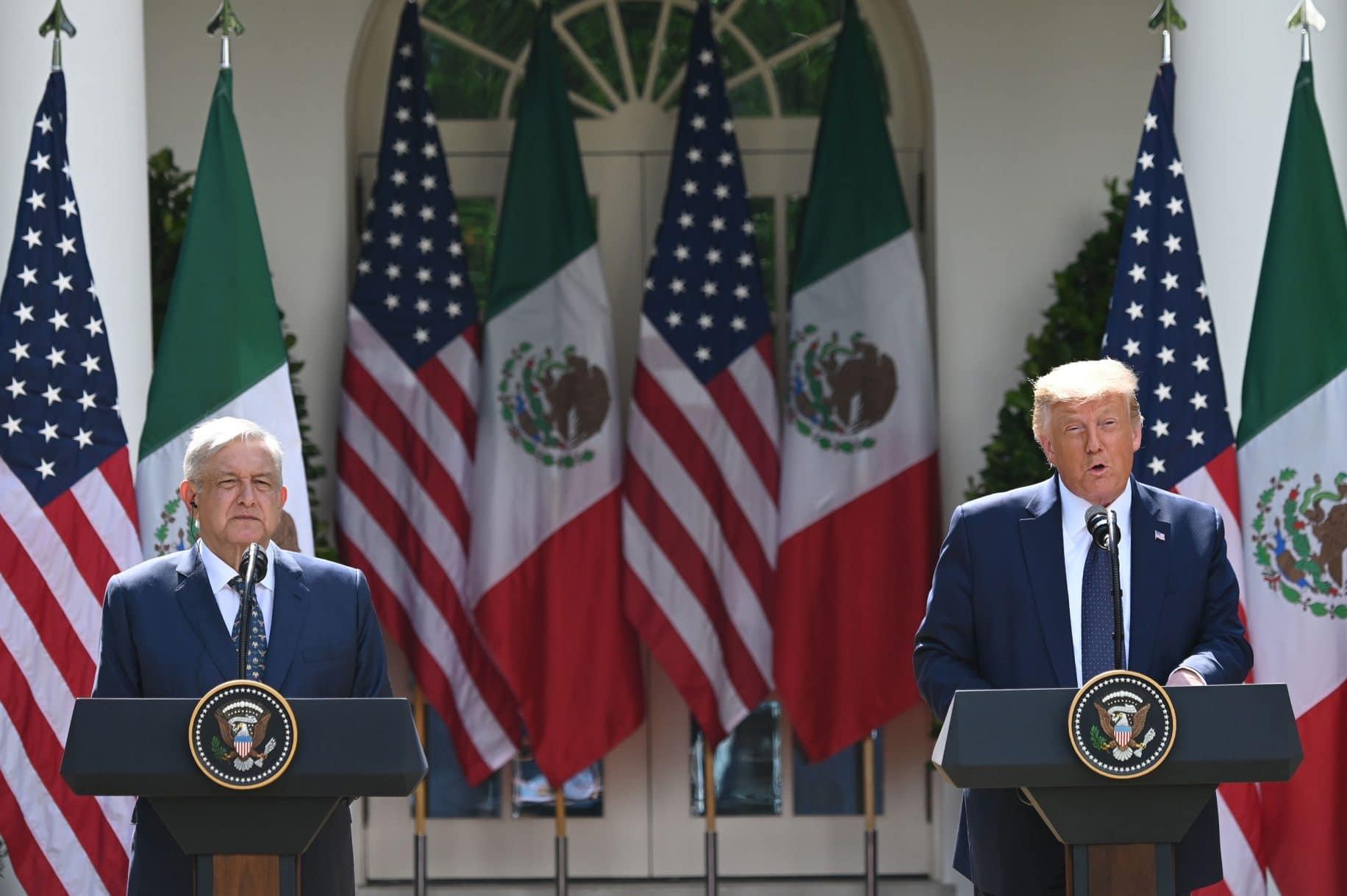 Mexican President Lopez Obrador thanks Trump for being 'increasingly respectful' toward Mexicans