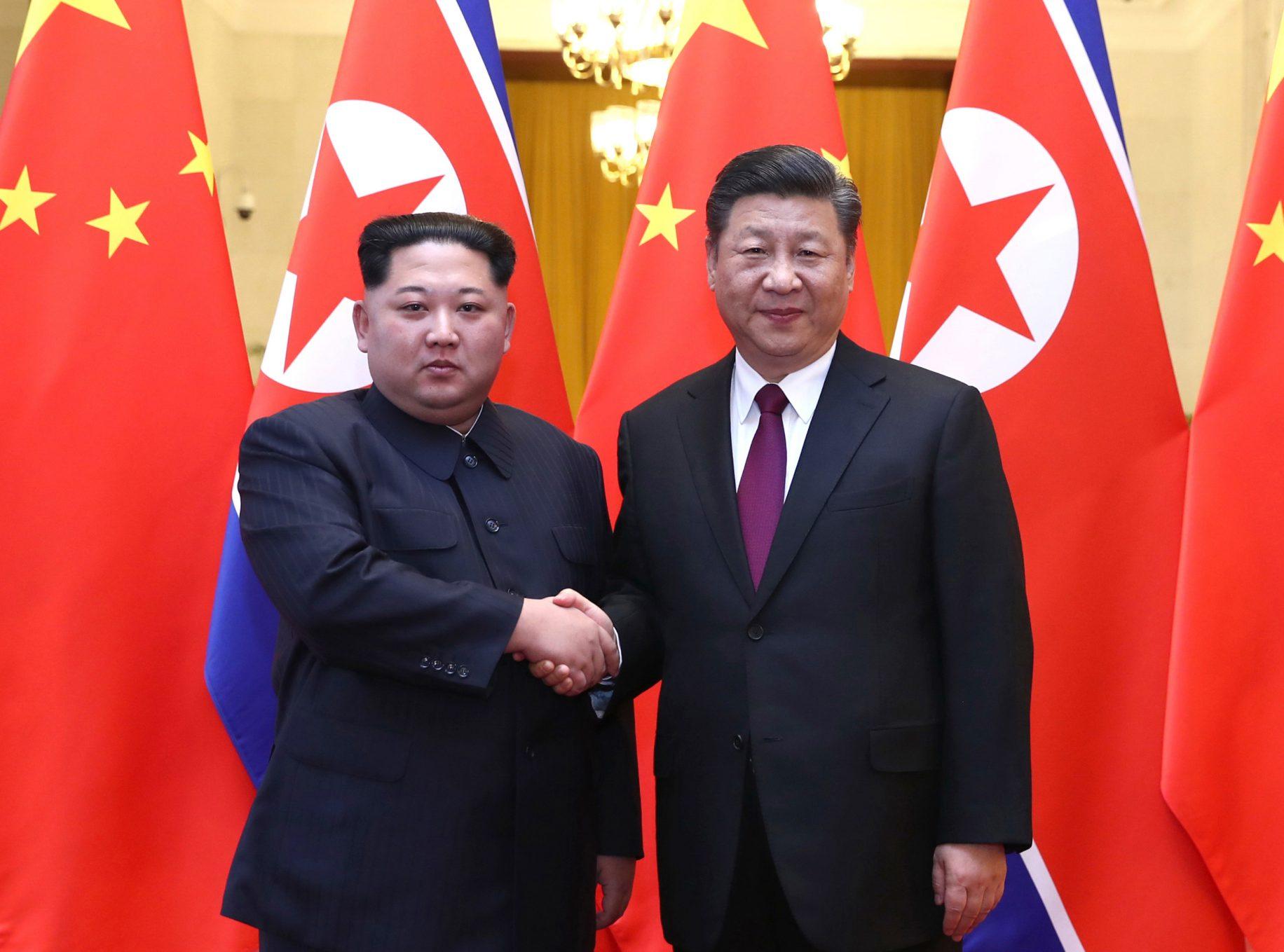 Kim Jong Un pledges stronger ties to China