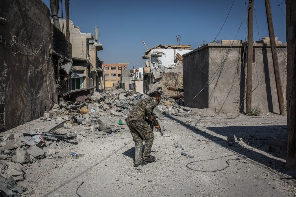 Anti-ISIS operations in Syria cease amid Turkish assault