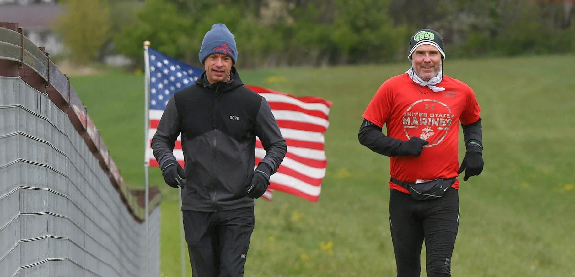 Veterans run 24 hours to raise funds for nonprofit group