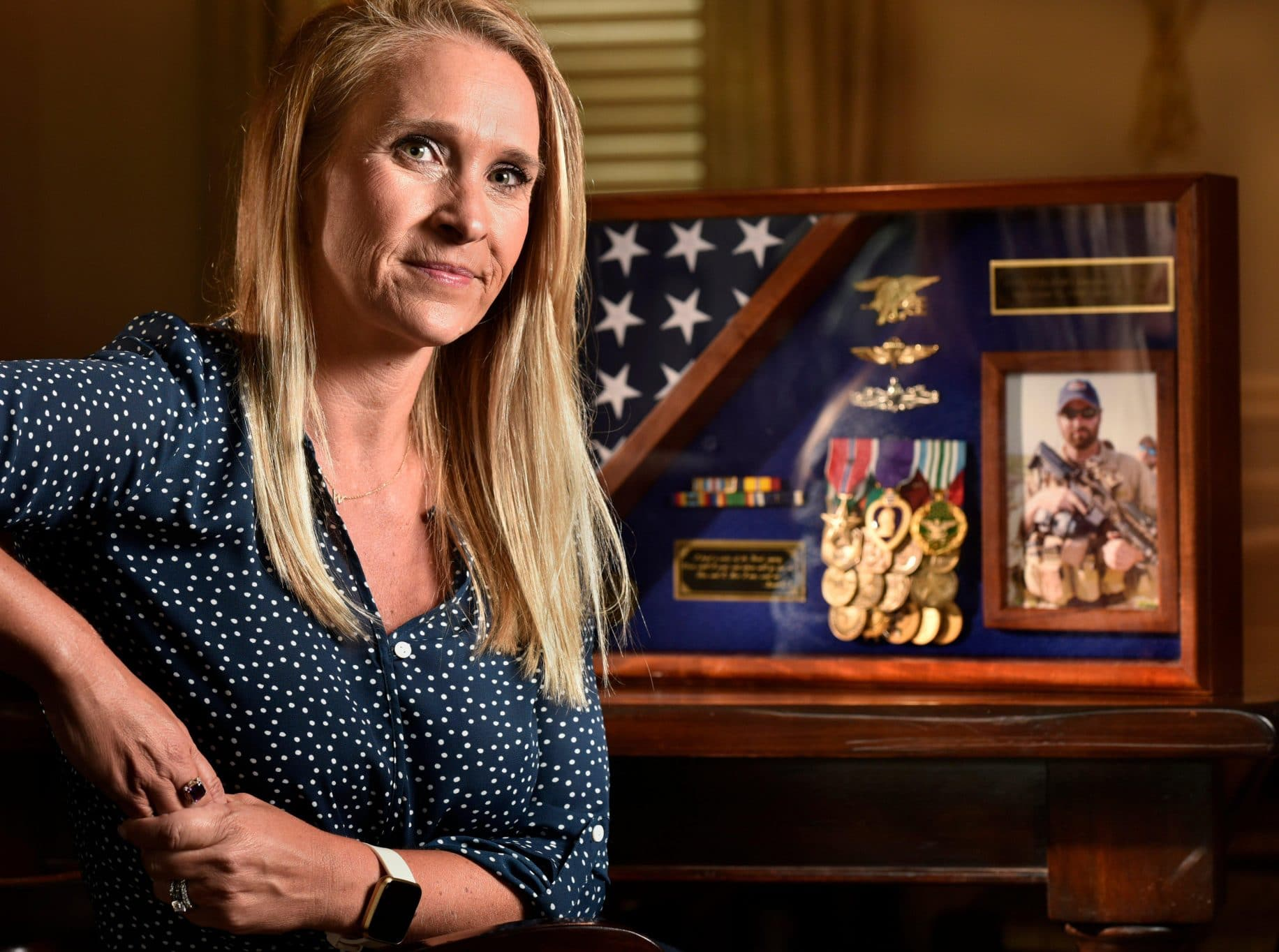 Widow of Navy SEAL killed in Afghanistan 15 years ago tells story of grief and acceptance