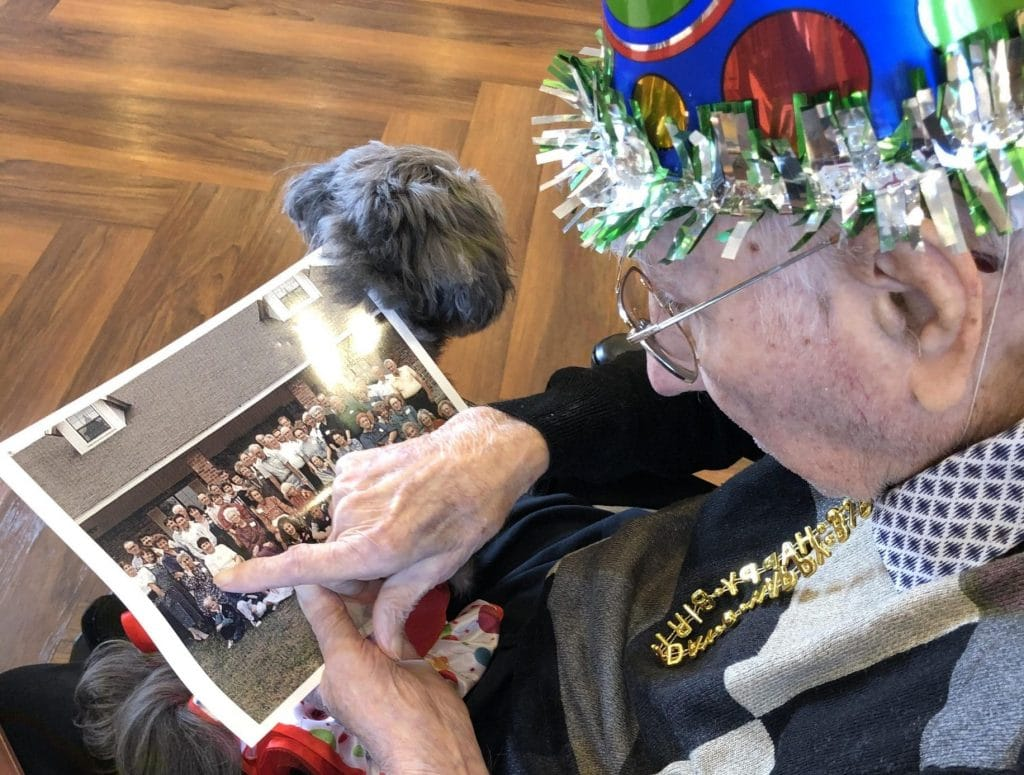 World War II, Korean War vet celebrates 100th birthday