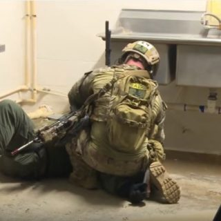 U.S. Special Forces and close quarters combat training.