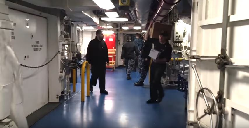 Take A Walk Aboard The Incredibly Powerful USS George H.W. Bush Aircraft Carrier Featured
